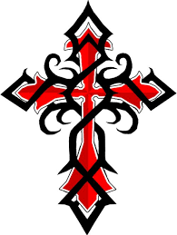tattoos of tribal cross black red celtic cross tattoos