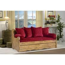 canap bois tissu canapé gigogne en pin massif et tissu au choix alaska projets à