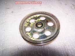 2007 honda odyssey power steering power steering pulley failure