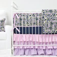Pink And Gold Baby Bedding Floral Crib Bedding Baby Flower Bedding Caden Lane