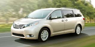 Toyota Sienna 2015 Release Date 2015 Toyota Sienna Brings Refreshed Touchscreens Dark New Nose