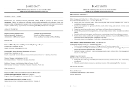 Example Of Resume For Human Resource Position by Sample Civilian And Federal Resumes Resume Valley