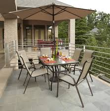 Patio Dining Sets With Umbrella Outdoor Patio Furniture Sets With Umbrella Home Design Ideas