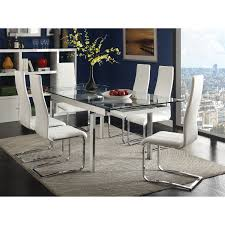 Faux Leather Dining Chairs With Chrome Legs Dining Chairs Faux Leather Monsoon Pacific Villa Faux Leather