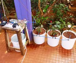 automated watering of potted plants with intel edison it is