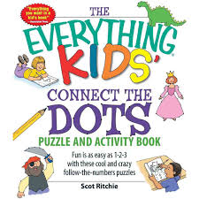the everything kids u0027 connect the dots puzzle and activity book