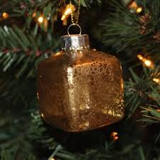 how to make a mercury glass ornament weekend craft
