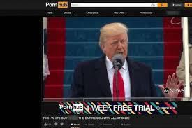 Pornhub Meme - donald trump speech uploaded to pornhub as rich white man f s the