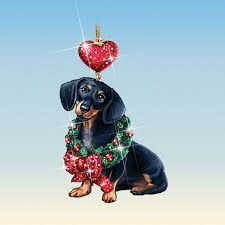 dachshund ornaments your 1st one is free the
