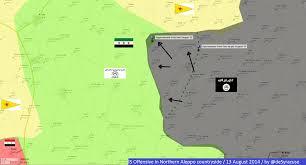 Aleppo Syria Map by Agathocle De Syracuse Syria North Aleppo Is Offensive 13 Aug 2014