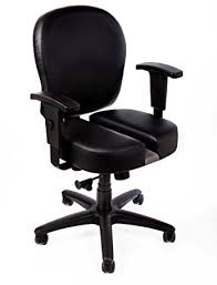 amazon com the ct 4547 back pain relief office chair with