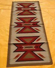 Aztec Runner Rug Southwestern Rug 9 6 X 13 6 Aztec Navajo Tribal Bordered