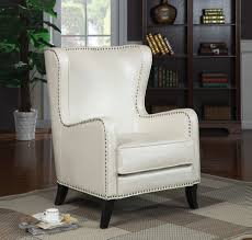 Bedroom Chairs With Ottoman by White Leather Bedroom Chair 76