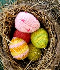 Knitted Easter Egg Decoration by Knitted Easter Egg Decoration Free Knitting Patterns Little