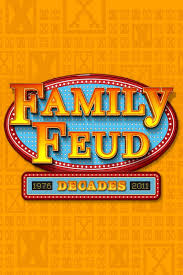 Family Feud Name Tag Template Family Feud Font