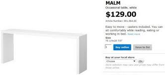 how to build a copy of an ikea malm occasional table for 35