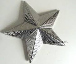 silver ornament 3d ceramic modern contemporary wall hanging