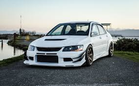 lancer mitsubishi white white sports mitsubishi lancer evolution ix wallpapers and images