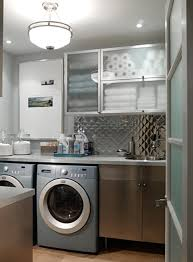 Laundry Room Wall Storage by Interior Design Modern Stackable Washer Dryer For Your Laundry