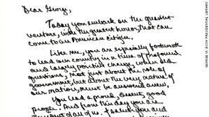 bush library releases presidential notes of encouragement