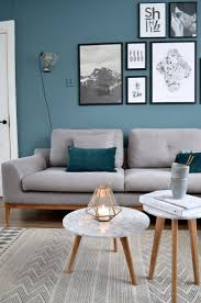 Blue Living Rooms Home Design Ideas - Blue living room color schemes