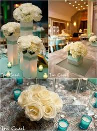 Centerpieces Sweet 16 by Sweet 16 Centerpieces Using Crystal Trees In Tiffany Blue White