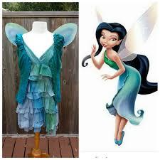 upcycled peter pan costume custom silvermist water fairy