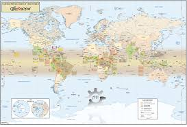 World Map Regions by Cafe Factory World Map Maps Com Solutions