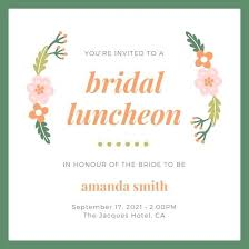 luncheon invitations wording bridesmaids luncheon invitations 9256 and front bridal dinner