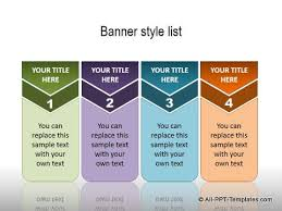 templates of ppt powerpoint list templates