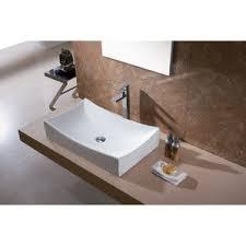 Re Porcelain Bathtub Bathroom Sinks You U0027ll Love Wayfair