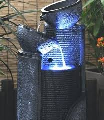 water fountain with lights light house water fountain solar water fountain with led light