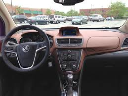 Encore Interior 2013 Buick Encore Crossover Wraps Tech Luxury And Value In A