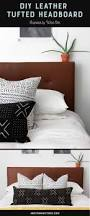 best 25 diy leather headboard ideas on pinterest