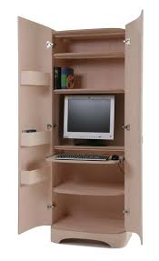 Kitchen Office Cabinets 14 Best Computer In Wardrobe Images On Pinterest Office Ideas