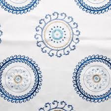 waverly ottoman ornament aegean 57 embroidered fabric sailrite