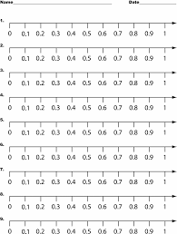 Add And Subtract Fractions Worksheet Math Fractions Number Line Worksheets Mental Math Grade 2