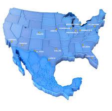 El Paso Zip Code Map by Terminals