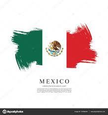 mexican flag banner template u2014 stock vector igor vkv 137864454