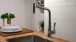 hansgrohe kitchen mixers metris single lever kitchen mixer 320