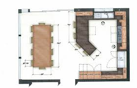 plans for kitchen island amazing kitchen floor plans kitchen island design ideas 24 with