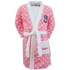 robe de chambre fillette peignoir miraculous ladybug 3 ans robe de chambre enfant pas