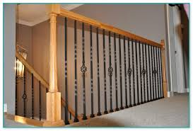 of wrought iron stair spindles