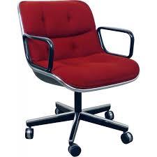 fauteuil de bureau knoll fauteuil de bureau knoll en métal et tissu charles pollock