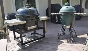 Big Green Egg Table Cover Kamado Ceramic Egg Smokers And Grills Buying Guide Reviews