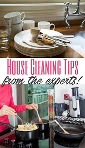 tips for house cleaning from the experts a helicopter mom