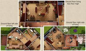 Floor Plans Of Tv Show Houses Mod The Sims Glenridge Hall The Mansion From Tv Series