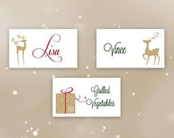 set 8 pearl frames frame mini christmas place card holders