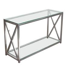 black metal entry table furniture narrow stainless steel table steel glass coffee table