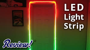 nexlux led light strip feican led light strip complete review youtube